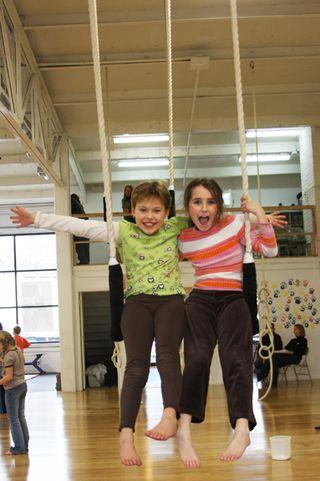 Kory Aversa Philadelphia School of Circus Arts Trapeze Kids