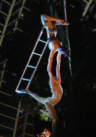 Copyright Kory Aversa Philadelphia School of Circus Arts Green Fairy Cabaret