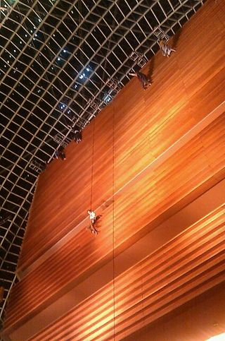 Grounded Aerial, PIFA, Kimmel Center, Philadelphia School of Circus Arts,  Kory Aversa