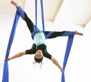 Fabric Silk Philadelphia School of Circus Arts Kory Aversa