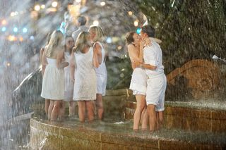 1, Diner En Blanc, Philadelphia, Picnic, Food, Foodie, Philly, event, logan circle, style, fashion, fun, Aversa PR, philly loves fun