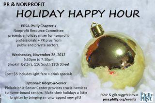 PRSA Happy Hour Invite Flyer
