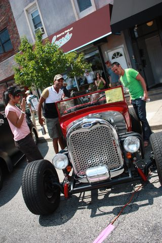 EPA Car Show - Antique Car from 2011 Event - Credit East Passyunk Ave